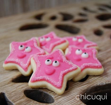 estrellas dora princesas galletas decoradas rosas 03