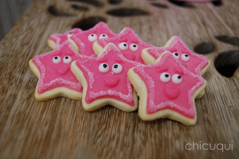estrellas dora princesas galletas decoradas rosas 04