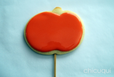 halloween galletas decoradas pumkin calabaza how to 03