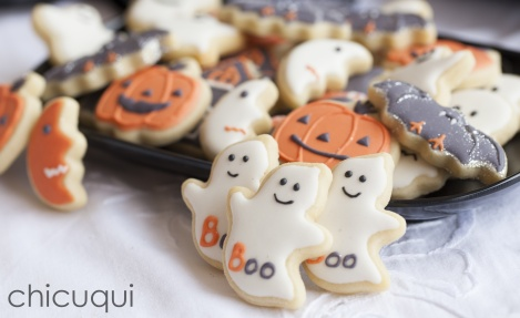 Halloween ghosts galletas decoradas chicuqui