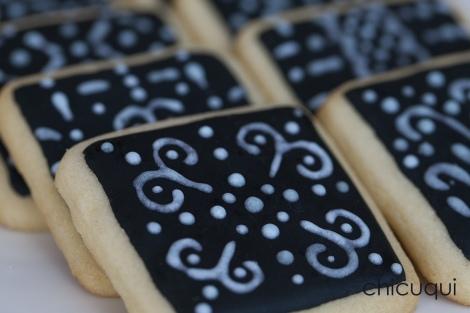 galletas decoradas encaje lace negra chicuqui 02