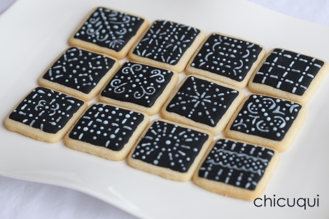 galletas decoradas encaje lace negra chicuqui 04