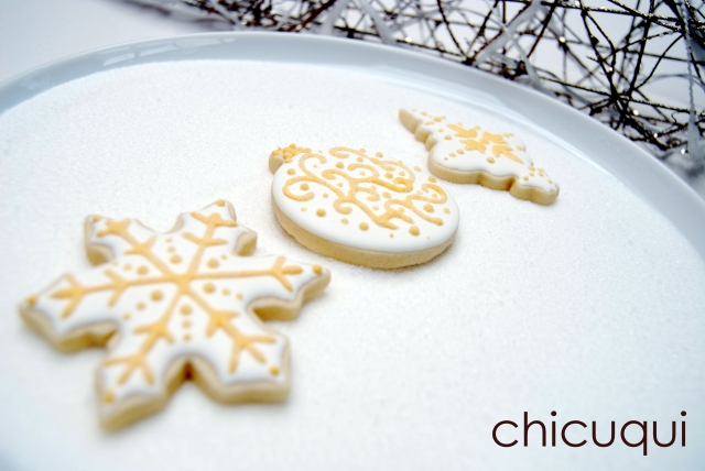 galletas decoradas navidad christmas decorated cookies
