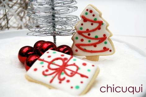 paisajes de Navidad, en versión galletas
