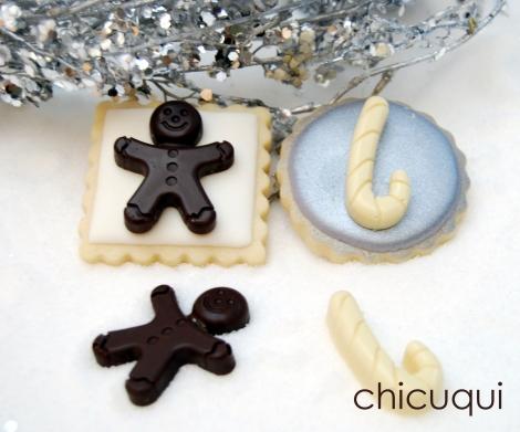 galletas decoradas navidad christmas 2013 chocolate 016
