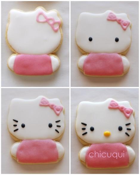 hello kitty collage 2 galletas decoradas decorated cookies