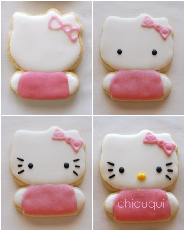 hello kitty collage 2 galletas decoradas decorated cookies