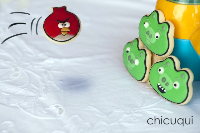 angry birds cookies galletas decoradas 4