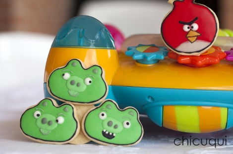angry birds cookies galletas decoradas 5