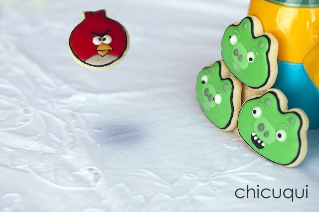 angry birds cookies galletas decoradas 6