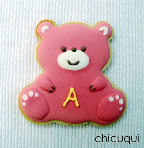 Galletas decoradas bebé decorated cookies baby ositos 3
