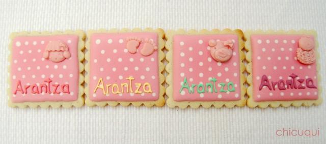 Galletas decoradas bebé decorated cookies baby wet on wet 3