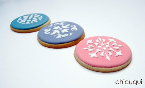 Galletas decoradas stencils decorated cookies 012