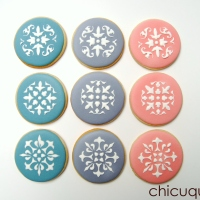 galletas decoradas con stencils