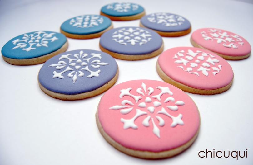 Galletas decoradas stencils decorated cookies 014