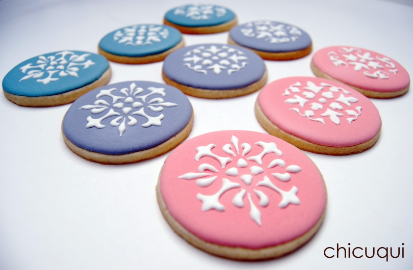 Galletas decoradas stencils decorated cookies 014