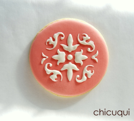 Galletas decoradas stencils decorated cookies 019