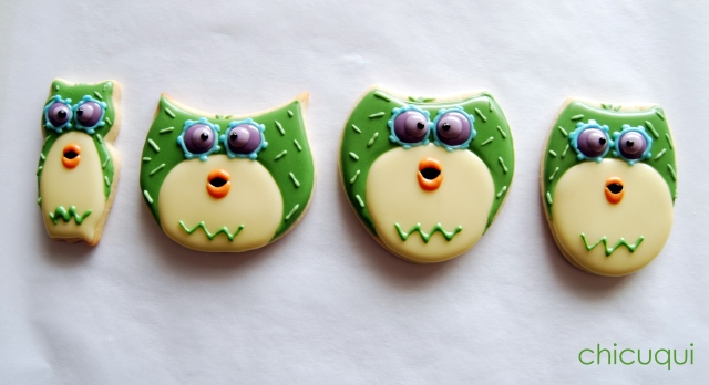 galletas decoradas buho ticketic toc olw decorated cookies 13