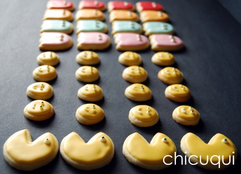 galletas decoradas comecocos decorated cookies pacman 6