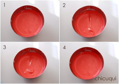 Galletas decoradas consistencia glasa real royal icing consistency 01