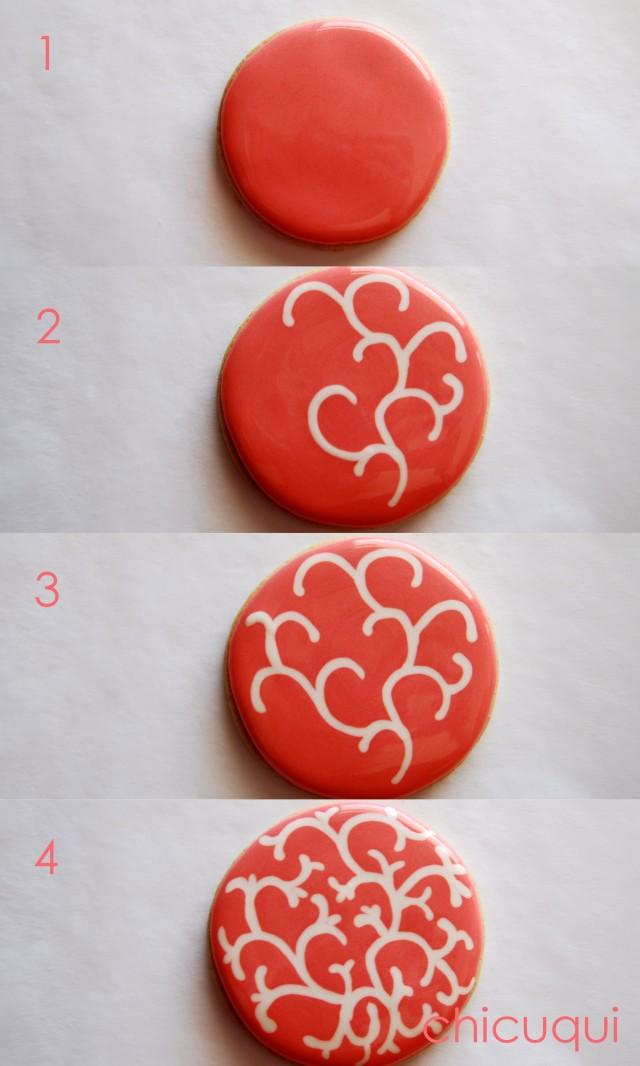 Galletas decoradas wet on wet decorated cookies wet on wet chicuqui 04