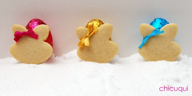 Pascua Easter, galletas decoradas conejitos chicuqui 3