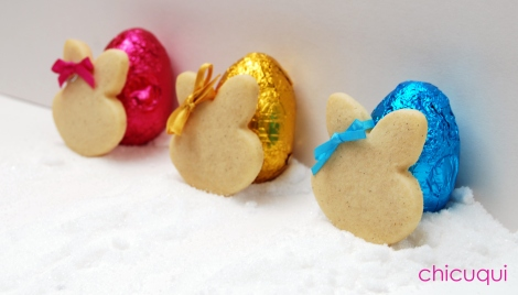 Pascua Easter, galletas decoradas conejitos chicuqui 4