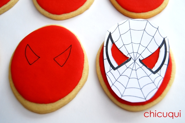 spiderman galletas decoradas decorated cookies 02