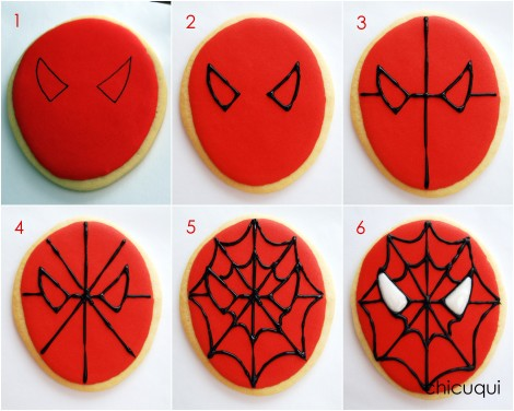 spiderman galletas decoradas decorated cookies 03