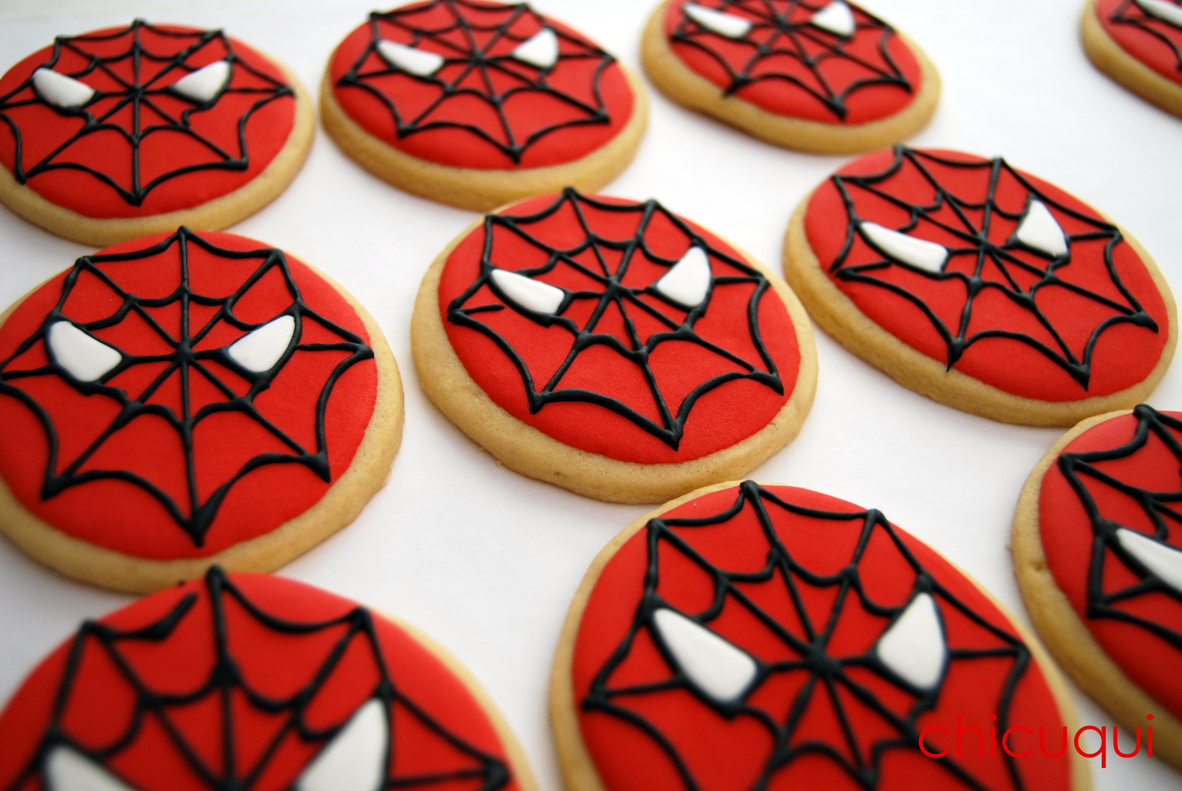 Galletas Decoradas Spiderman
