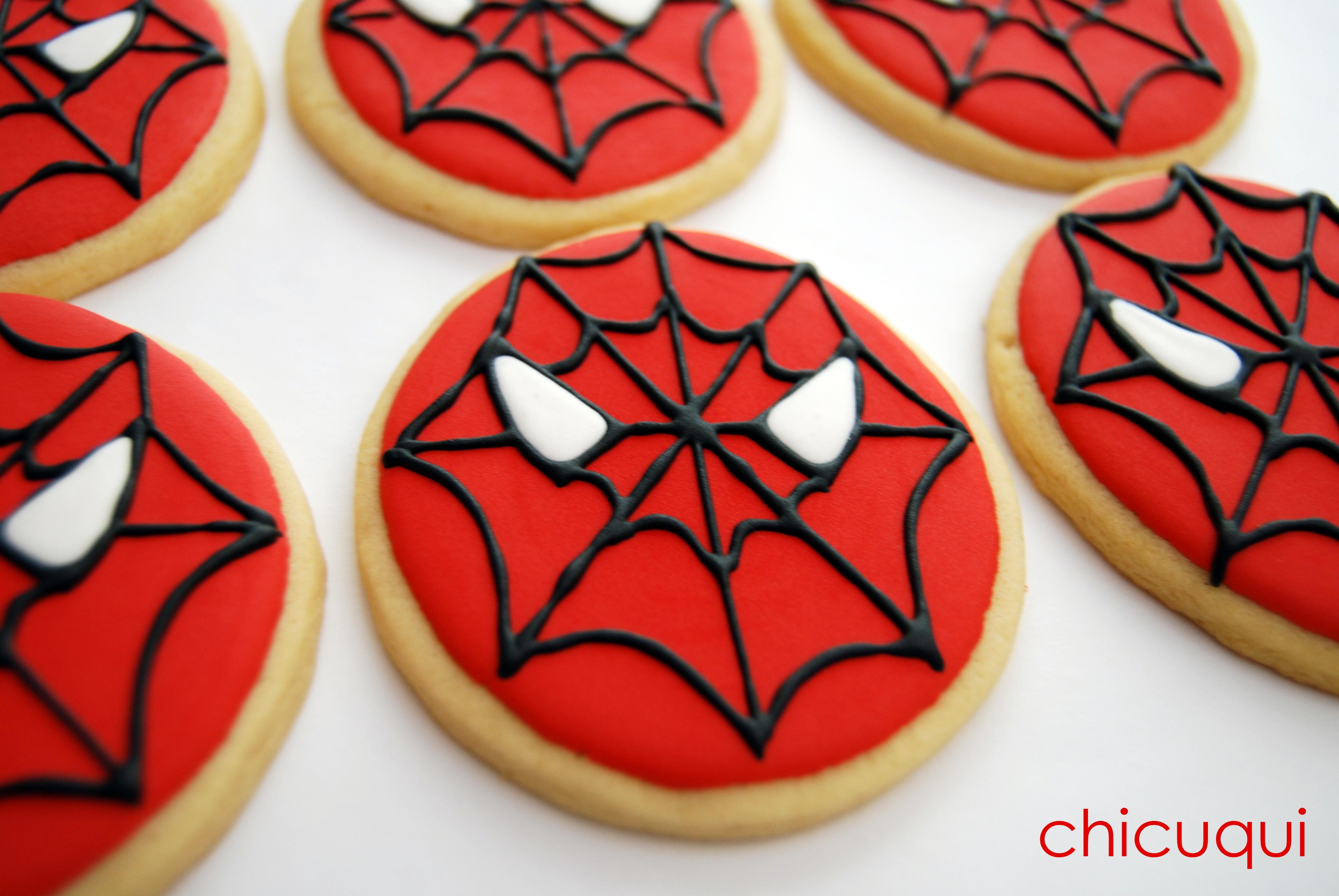 Spiderman La Galleta Decorada Chicuqui