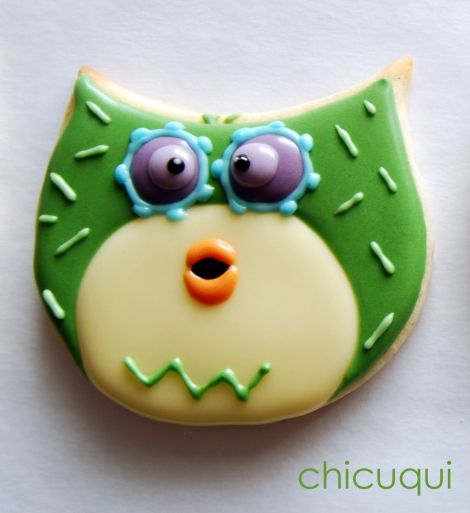 galletas decoradas buho ticketic toc olw decorated cookies 24