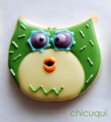 galletas decoradas buho ticketic toc olw decorated cookies 24