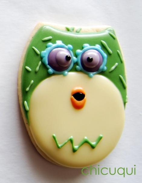 galletas decoradas buho ticketic toc olw decorated cookies 26