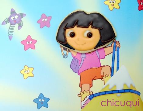 galletas decoradas Dora decorated cookies chicuqui 01