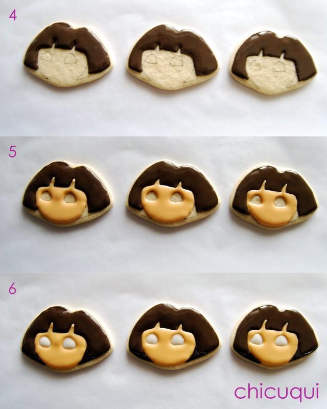 galletas decoradas Dora decorated cookies chicuqui 05