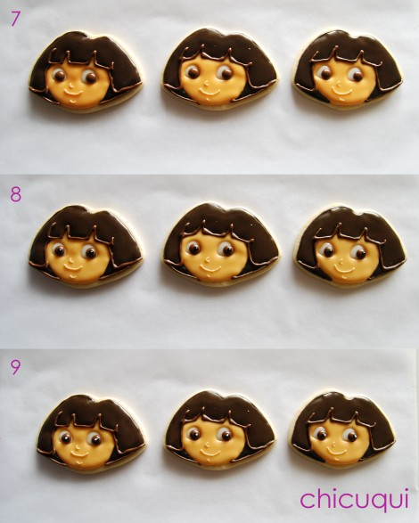 galletas decoradas Dora decorated cookies chicuqui 06