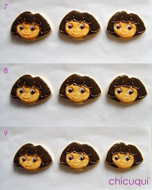 galletas decoradas Dora decorated cookies chicuqui 06