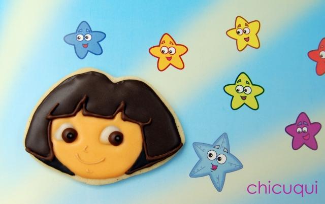 galletas decoradas Dora decorated cookies chicuqui 07