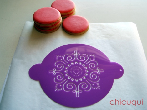 Galletas decoradas stencils decorated cookies stencils chicuqui 01