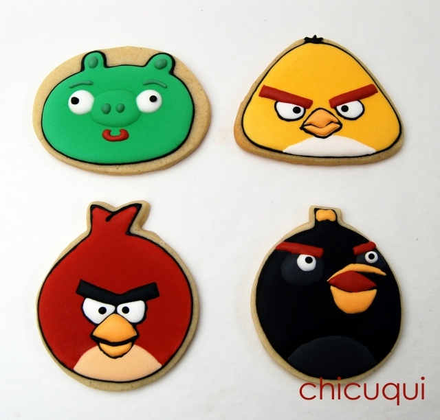 angry birds galletas cookies galletas decoradas chicuqui 02
