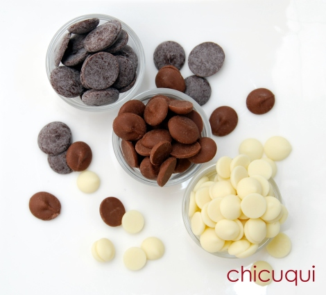 atemperar chocolate galletas decoradas chicuqui 05