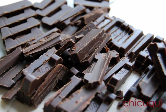 atemperar chocolate galletas decoradas chicuqui 08