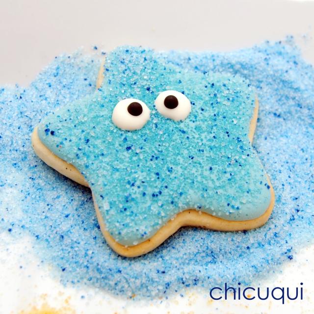 estrellas mar sin gluten galletas decoradas chicuqui 01