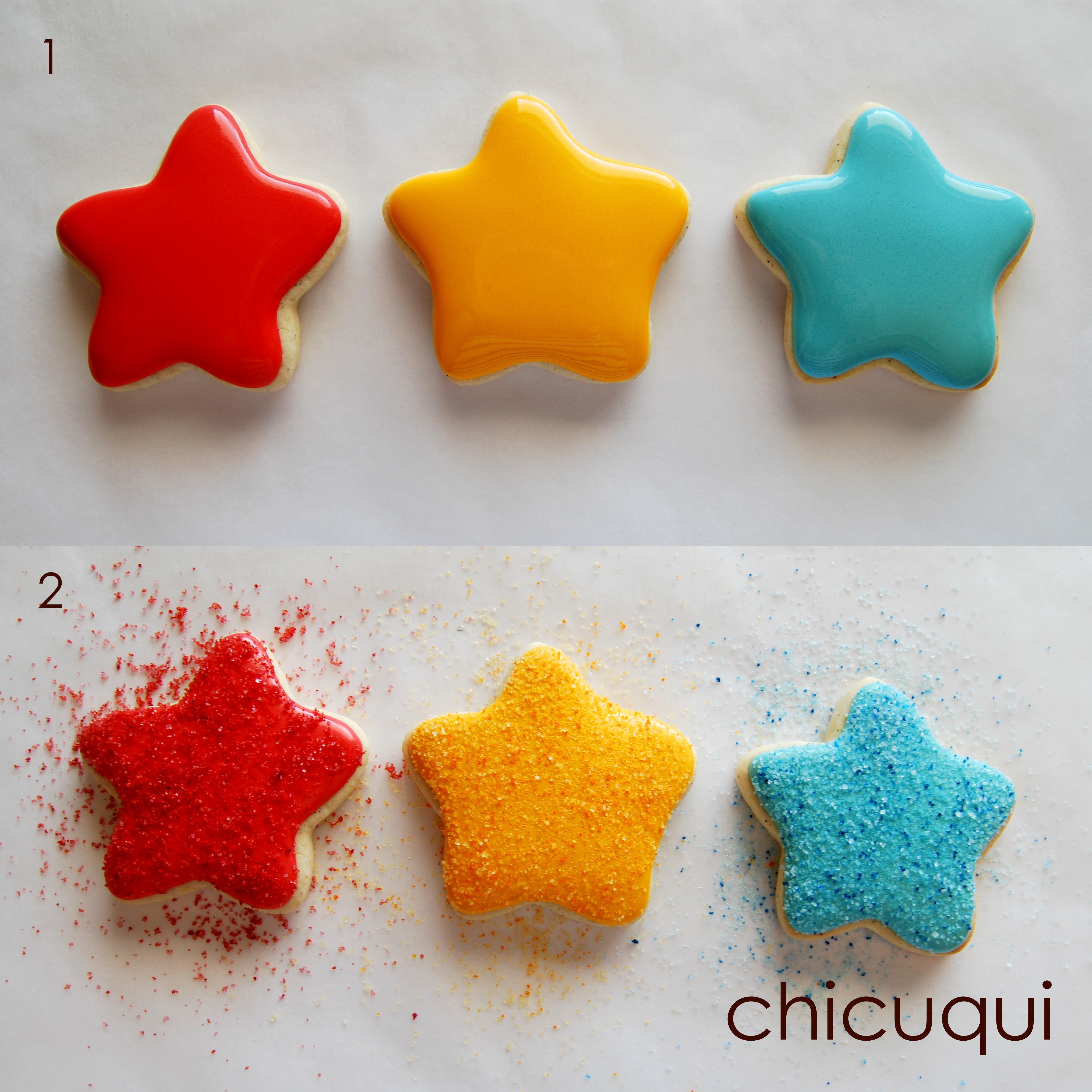 Estrellas De Mar En Galletas Decoradas Sin Gluten Chicuqui