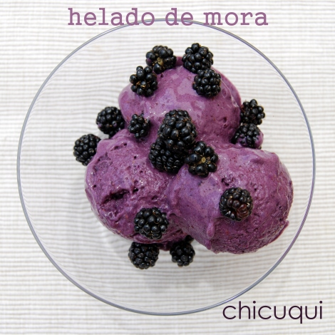 helado de mora en  galletas decoradas chicuqui.com