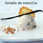 Receta de helado de vainilla en chicuqui.com