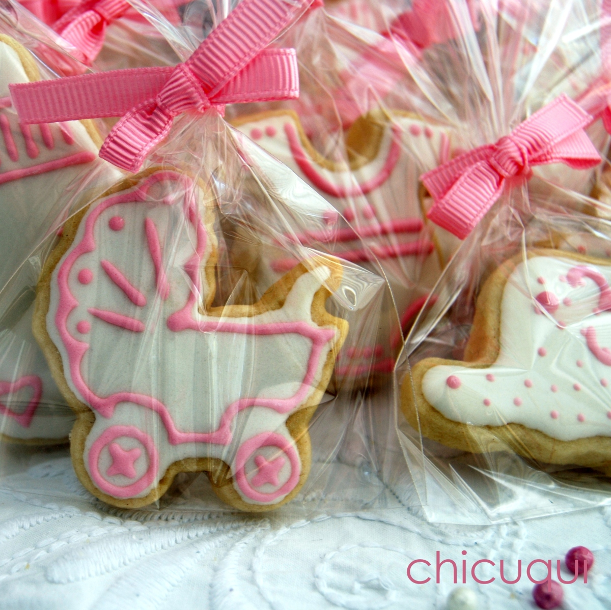 Galletas decoradas para bebé, un regalo original