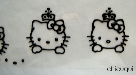 galletas decoradas hello kitty tranfer 07