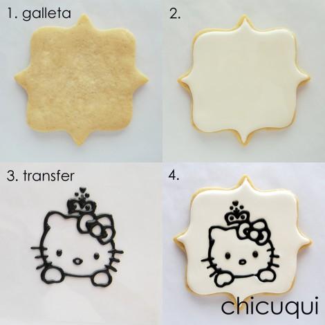 galletas decoradas hello kitty transfers 01